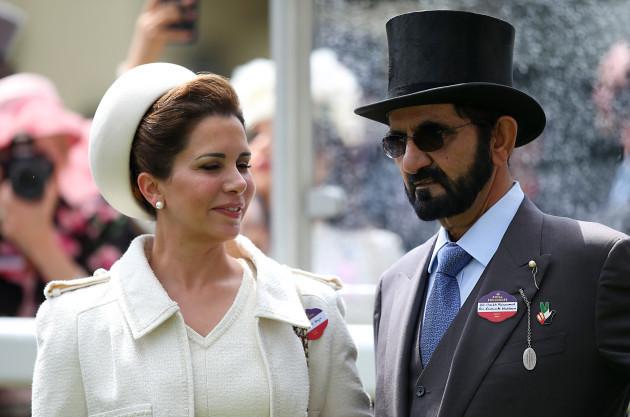Princess who flew Mary Robinson to Dubai says the Latifa