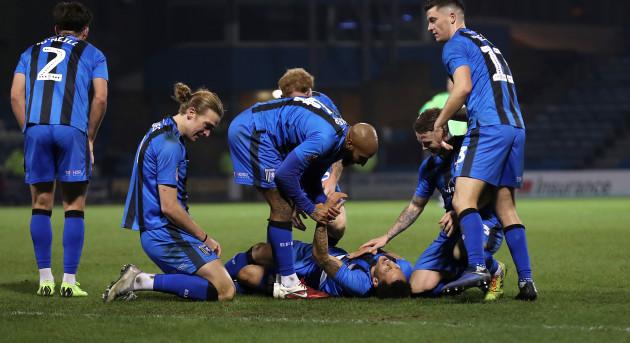 Gillingham v Cardiff City - Emirates FA Cup - Third Round - Priestfield Stadium