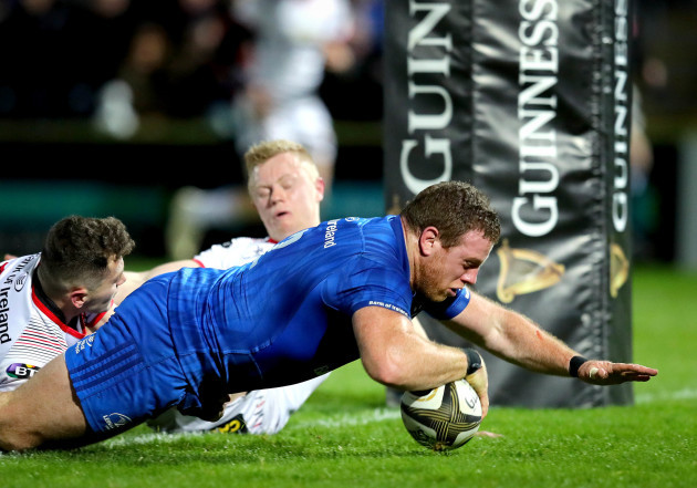 Sean Cronin scores his side's second try