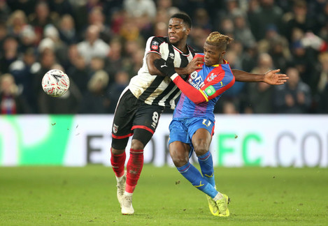 Crystal Palace v Grimsby Town - Emirates FA Cup - Third Round - Selhurst Park