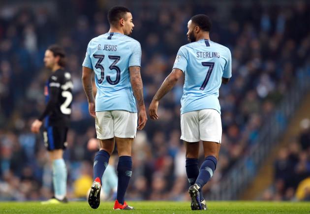 Manchester City v Rotherham United - Emirates FA Cup - Third Round - Eithad Stadium