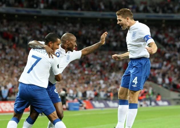 Soccer - UEFA Euro 2012 - Qualifying - Group G - England v Bulgaria - Wembley Stadium