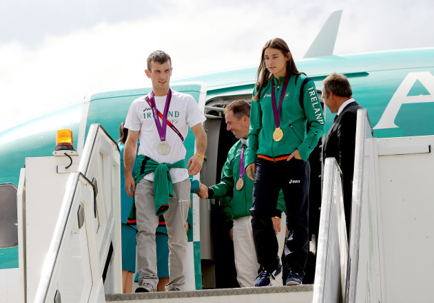 John Joe Nevin and Katie Taylor