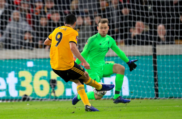 Wolverhampton Wanderers v Liverpool - Emirates FA Cup - Third Round - Molineux