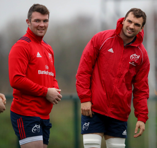 Peter O'Mahony and Tadhg Beirne