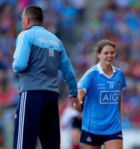 Noelle Healy with Mick Bohan