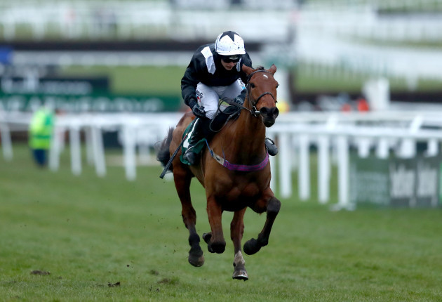 Katie Walsh onboard Relegate comes home to win