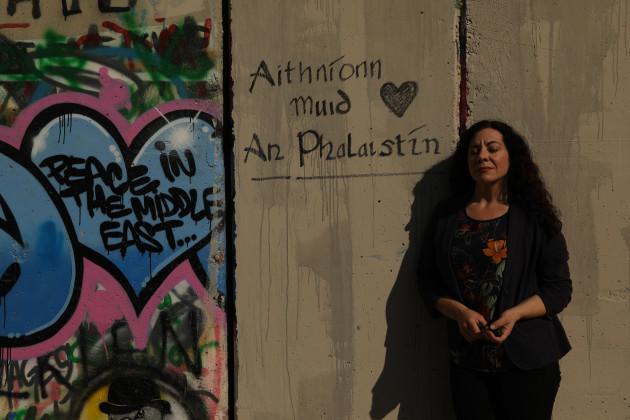 618A8526- Sile Palestine Wall