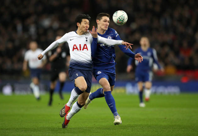 Tottenham Hotspur v Chelsea - Carabao Cup - Semi Final - First Leg - Wembley Stadium