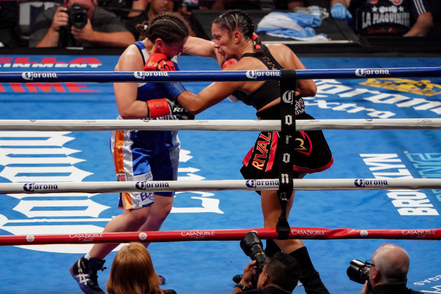 The sport of female boxing isn't Katie Taylor': Serrano frustrated