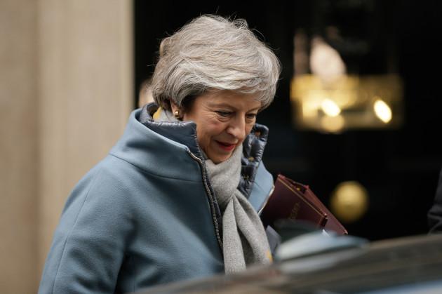 BRITAIN-LONDON-PRIME MINISTER-PMQS