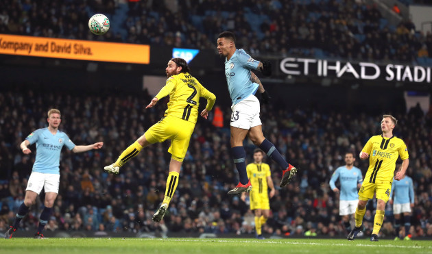 Manchester City v Burton Albion - Carabao Cup - Semi Final - First Leg - Etihad Stadium