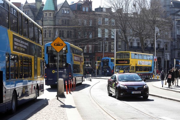 File photo THE NATIONAL TRANSPORT Authority is in the middle of redesigning Dublin's bus network, and has released the proposed new routes today. The network is being redesigned in an attempt to make bus routes simpler for tourists to understand and mor