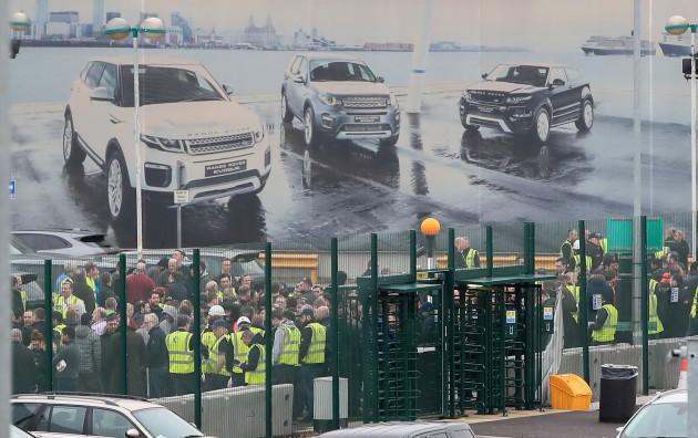 Jaguar Land Rover business update