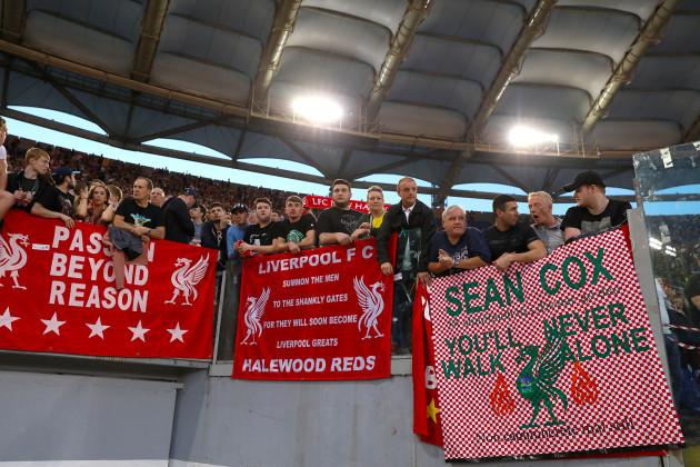 AS Roma v Liverpool - UEFA Champions League - Semi Final - Second Leg - Stadio Olimpico