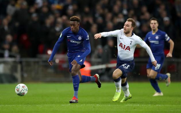 Tottenham Hotspur v Chelsea - Carabao Cup - Semi Final - First Leg - Wembley Stadium