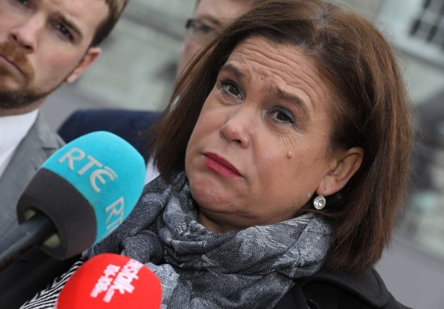 File photo Mairia Cahill To Meet Mary Lou McDonald Today. End.