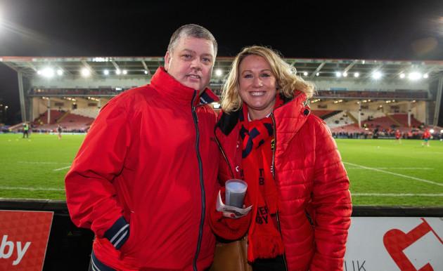 John and Lorraine O'Brien ahead of the game