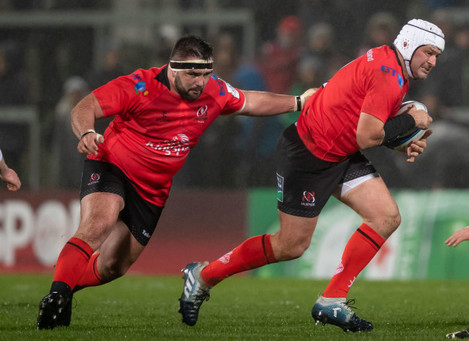 Marty Moore and Rory Best