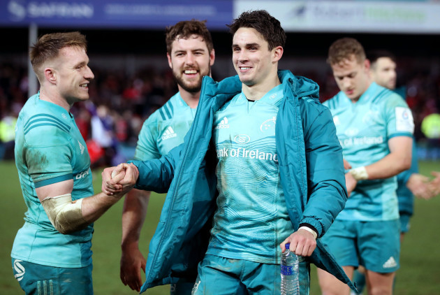 Rory Scannell and Joey Carbery