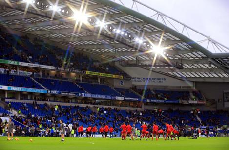 Brighton and Hove Albion v Liverpool - Premier League - AMEX Stadium