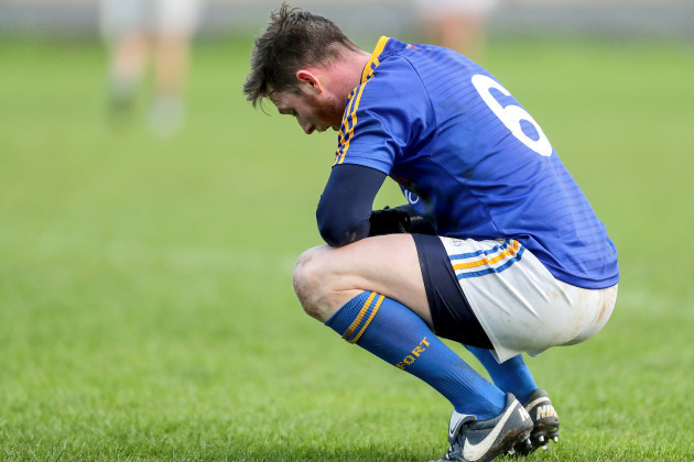 Michael Quinn dejected
