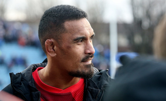 Jerome Kaino after the game
