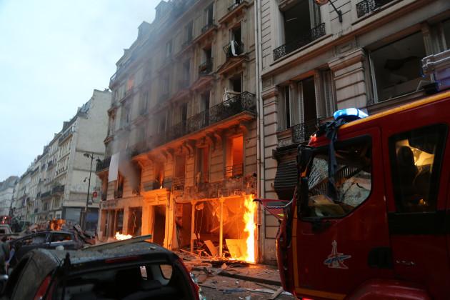 France: Explosion at Paris Bakery kills at least 4