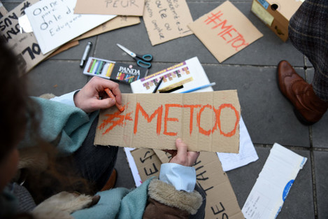 #MeToo Rally Against Sexual Harassment