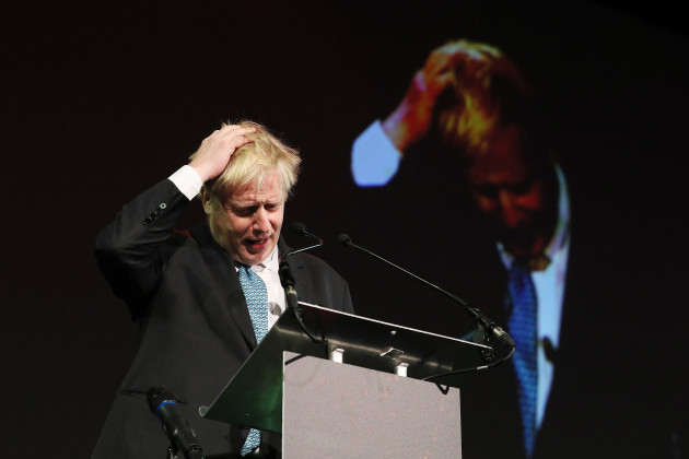 Boris Johnson in Dublin
