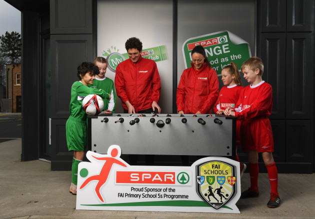 SPAR FAI Primary School 5s Programme Launch