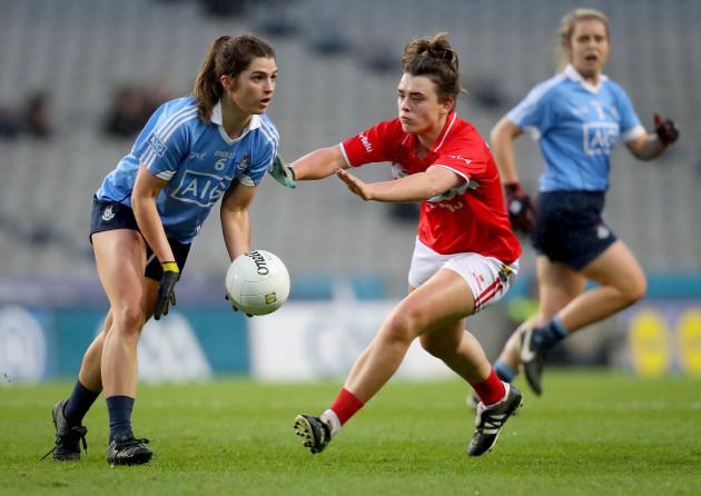 Doireann O'Sullivan with Niamh Collins