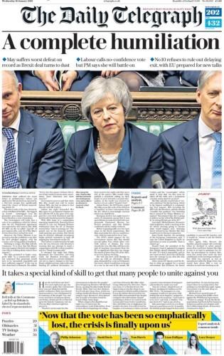 may telegraph