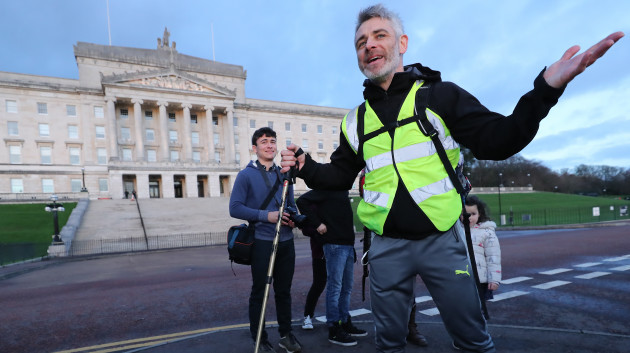 Dylan Quinn protest walk