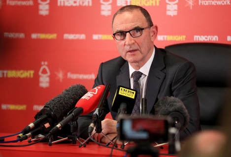 Nottingham Forest Press Conference - City Ground
