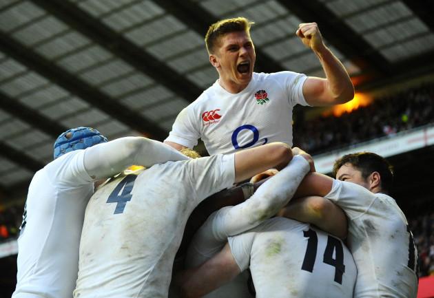 Rugby Union - QBE International - England v New Zealand - Twickenham