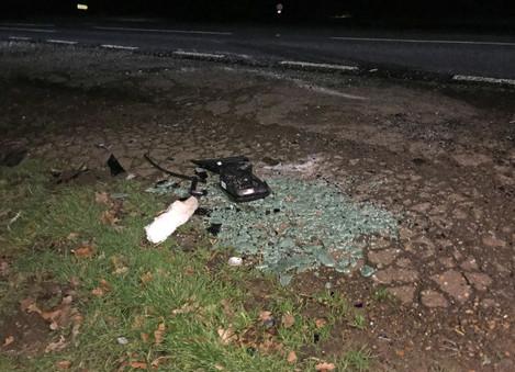 Duke of Edinburgh car crash