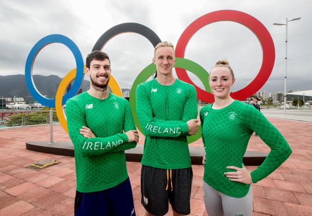 Nicholas Quinn, Shane Ryan and Fiona Doyle