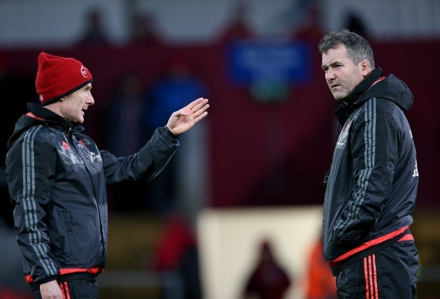 Ian Costello and Anthony Foley