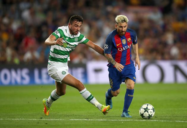 Barcelona v Celtic - UEFA Champions League - Group C - Camp Nou