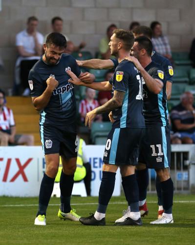 Lincoln City v Bury - Sky Bet League Two - Sincil Bank