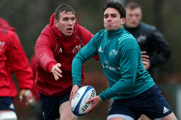 Chris Farrell and Joey Carbery