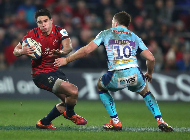 Joey Carbery and Joe Simmonds