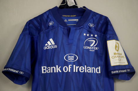 A view of the Leinster jersey ahead of the game