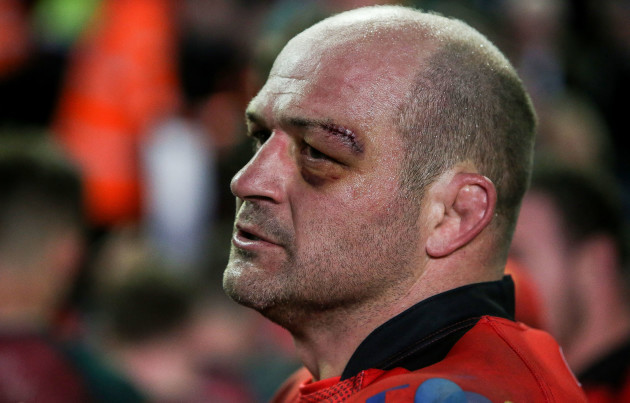 Rory Best after the game