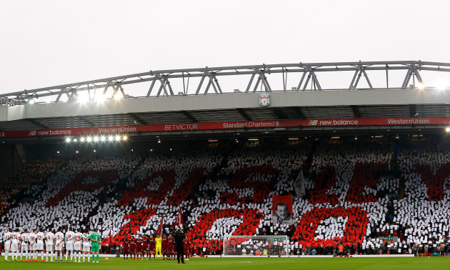 Liverpool v Crystal Palace - Premier League - Anfield Stadium