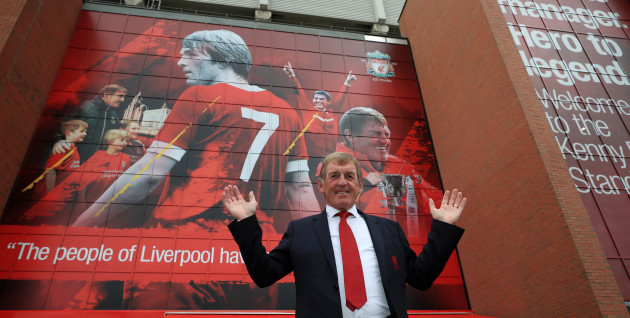 Kenny Dalglish Stand opening event - Anfield