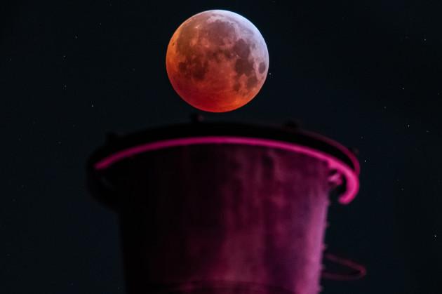 Total Lunar Eclipse - North Rhine-Westphalia