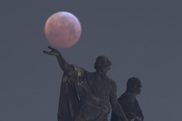 Total Lunar Eclipse - Saxony