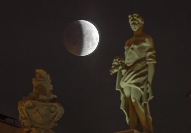 Russia Lunar Eclipse